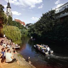 Entdecken Sie Leipzig abseits der bekannten Wege: Geheimtipps, Insider-Tipps, Touren & Veranstaltungen für Sehenswürdigkeiten in Leipzig: Spaziergang am Karl-Heine-Kanal.
