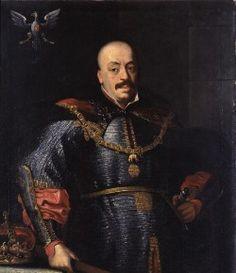 Lenkijos karaliaus ir Lietuvos didžiojo kunigaikščio Jono Kazimiero Vazos (1609-1672) portretas. Muziejus rūmai Vilanove. / Portrait of Grand Duke of Lithuania and King of Poland John II Casimir Vasa (1609-1672). Palace in Wilanów.