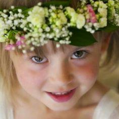 Beauriful flower crown for flowergirls