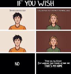 Percy Jackson and Magnus Chase