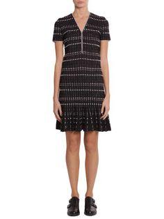 ALEXANDER MCQUEEN Short Dress. #alexandermcqueen #cloth #dresses