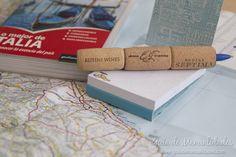 Bolígrafos decorados con corchos #manualidades #DIY