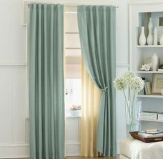 buy whitworth lined eyelet curtains duck egg | curtains | the, Wohnzimmer dekoo