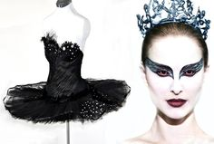 Black Swan Costume - Made to Measure - Featured in Playboy via Etsy