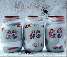 Zombie Mason Jars