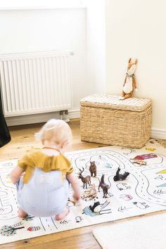Get ready for a little road trip with the Little Explorer´s Rug. The rug is made of cotton and has a hand-printed design of a road with little surprises along the way. A great addition to any kid's room. Advent, Photo Wall Decor, Playrooms, Nursery Design, Nara, Room Rugs, Kids Decor, Boy Room, Boho Decor