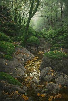 Landscape painting by artist Adair Payne.