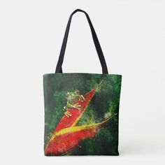 Artistic Costa Rica Red Eyed Tree Frog Tote Bag Monogram Tote Bags, Personalized Tote Bags, Custom Tote Bags, First Christmas Photos, Red Eyed Tree Frog, Pineapple Pattern, Tote Backpack, Tote Pattern, Tree Frogs