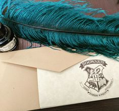 Harry Potter Party Decorations, Party Inspiration and Hogwarts Acceptance Letters in preparation for the anniversary of Harry Potter Book Hogwarts Acceptance Letter, Hogwarts Letter, Harry Potter Party Decorations, Party Invitations, Invites, 20th Anniversary, Quilling, Homemade, Letters