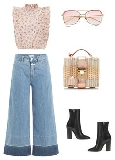 """Sans titre #119"" by bibidm on Polyvore featuring mode, Closed, Gucci et Mark Cross"