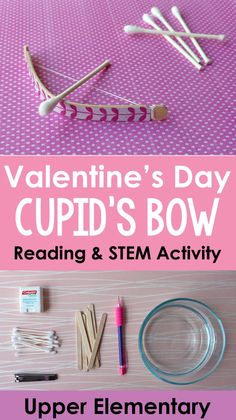 Try this fun valentine stem activity that incorporates reading and math with your graders! free printables and reading passage available for Valentines Games, Valentine Crafts For Kids, Valentines Day Activities, Valentines Day Party, Valentine Ideas, Kid Crafts, Valentine Nails, Holiday Activities, Paper Crafts