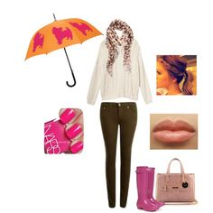 """""""Rainy outfit"""" by ourbeautybag on Polyvore"""