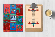 A branding project for copacabana, a local seafood shack who requested a quirky and sunny beach image for their branding and interior design. The approach is taken from the tropical color combined with a playful typography and with an added quirkiness fro…