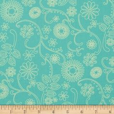 """110"""" Wide Quilt Back Signature Mint from @fabricdotcom  This 110'' wide quilt backing fabric is perfect for quilting projects as well as duvets or curtains. Colors include shades of red. Use for quilting and craft projects."""
