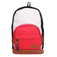 16.80$  Watch here - http://viord.justgood.pw/vig/item.php?t=w9uim0f1658 - Women Canvas Colorful Backpack Schoolbag Shoulder Bag 16.80$