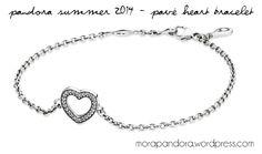 Pandora Summer 2014 pave bracelet