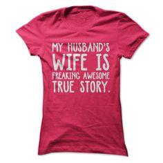 Awesome Wife Tee T-Shirts, Hoodies, Sweaters