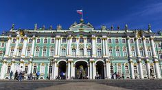 Hermitage on Palace Square in St. Petersburg, Russia