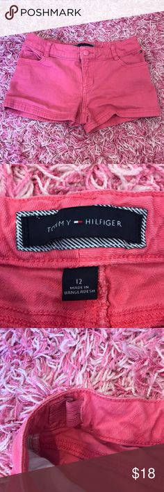 Tommy Hilfiger Girls Pink Shorts ★ In great condition:) girls Tommy Hilfiger Bottoms Shorts