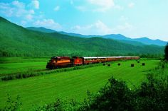Ride on a scenic train excursion on the Great Smoky Mountains Railroad in western North Carolina near Asheville and Bryson City. North Carolina Day Trips, South Carolina, Fontana Lake, Bryson City Nc, Scenic Train Rides, Train Rides In Nc, Visit Nc, Great Smoky Mountains, Smokey Mountain