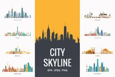 City Skyline by @Graphicsauthor