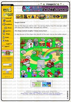 neopets in a simpler time