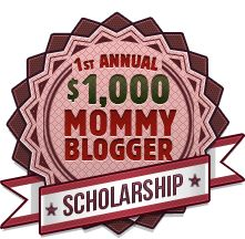 Apply for the Mommy Blogger Scholarship