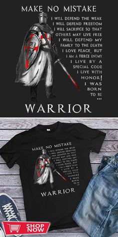 You can click the link to get yours. Knight Templar Make No Mistake The Crusader. Knight Templar tshirt for Crusader and Knight Templar Lovers. We brings you the best Tshirts with satisfaction. Crusader Knight, Knights Templar, Peace And Love, Lovers, Bring It On, Crusaders, Hoodies, Link, How To Make