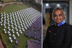Surat-Based Billionaire Diamond Merchant Gifts Employees 400 Flats 1260 Cars As Diwali Bonus   The Surat-based billionaire diamond merchant Savji Dholakia whosestory became sensational after he made his son do blue-collar jobs to learn the value of money is again in the news for doing something stunning. This time he has gifted 400 flats and 1260 cars as Diwali bonus to his employees.  His diamond firm Hare Krishna Exports has spent Rs 51 crore on Diwali bonuses this year under which 1716…