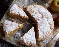 Jablkový koláč s ovsenými vločkami a škoricou