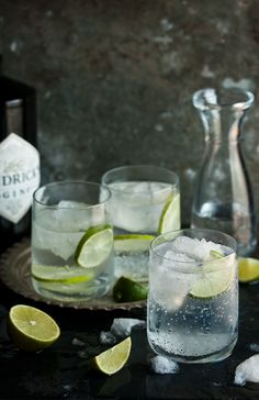 the best gin and tonic//