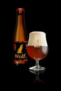 Wolf 9, Brouwerij Lupus Aarschot, Belgium 9% 8/10 very nice dark amber beer. Sweet warm alcohol impression.