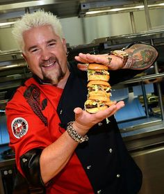 See detailed description, map, photos and videos of Guy Fieri's Kitchen and Bar restaurant in Las Vegas. Restaurateur, chef, author and TV host Guy Fieri has opened a Las Vegas restaurant at The LINQ Hotel & Casino. Las Vegas Vacation, Vegas Fun, Need A Vacation, Vacation Ideas, Food In Vegas, Travel Vegas, Vegas 2017, All I Ever Wanted, Roadtrip