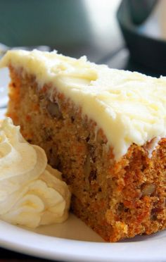 Lite Carrot Cake Recipe