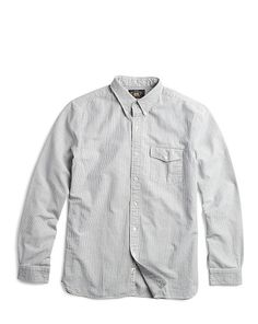 Striped Selvedge Oxford Shirt - RRL Standard Fit - RalphLauren.com