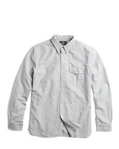 Striped Selvedge Oxford Shirt - RRL Standard Fit - RalphLauren.com