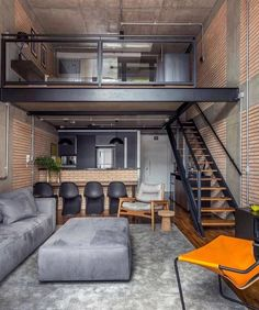 loft design We know you guys are into interiors, our minimal interior design series is our most popular on the site. However, if you want more interior design and Loft Interior Design, Loft Design, Tiny House Design, Design Case, Interior Design Inspiration, Interior Architecture, Design Design, Design Trends, Design Bedroom