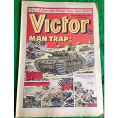 Victor #760 Comic UK September 1975 Football Sport Action Adventure
