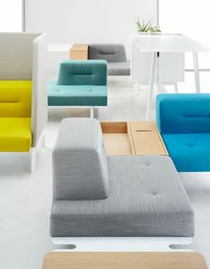 Docks furniture system for Ophelis by Till Grosch and Bjorn Meier