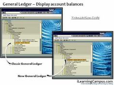 SAP ERP - FI (Finance) Accounts and Balance display