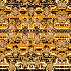 Brown_Infinity_E fabric by k_shaynejacobson on Spoonflower - custom fabric