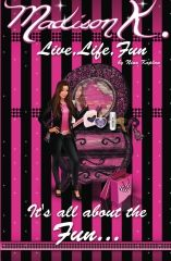 """""""Madison K: Live, Life, Fun..."""" by Nina Kaplan uses serious teachings in its easy-to-read storyline in order to reach teenage girls as they go through different"""