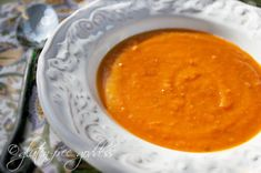 Gluten-Free Goddess® Recipes: Sweet Potato Soup with Ginger