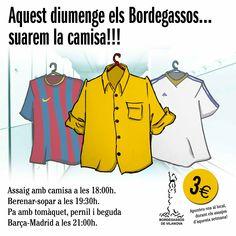 Assaig amb camisa + Barça Madrid