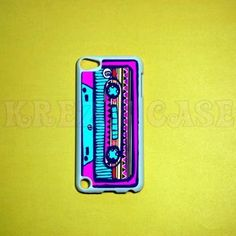 iPod Touch 5 Case, Retro style cassette time iPod touch 5 Cases, iPod touch 5G Cover,Case for iPod touch 5