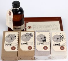 #Maak #Soap Lab - Portland Oregon - nice packaging and labels