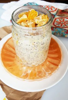 Orange Cream Overnight Oats