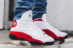 On-Feet Images Of The Air Jordan 13 Chicago