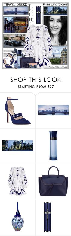 """""""THE SELFIE:  All the Rage♥️"""" by polyvore-suzyq ❤ liked on Polyvore featuring Lonely Planet, Nine West, Giorgio Armani, March11, Alexandra de Curtis and Spartina 449"""