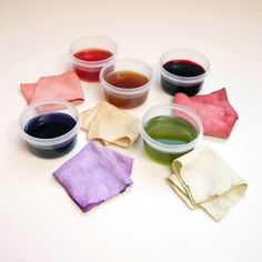 Make Natural Dyes With Leftover Fruits and Vegetables